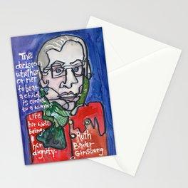 Justice Ruth Bader Ginsburg Stationery Cards