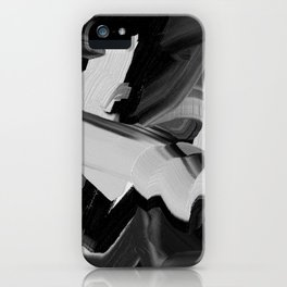 Chaos Within - Abstract Painting iPhone Case