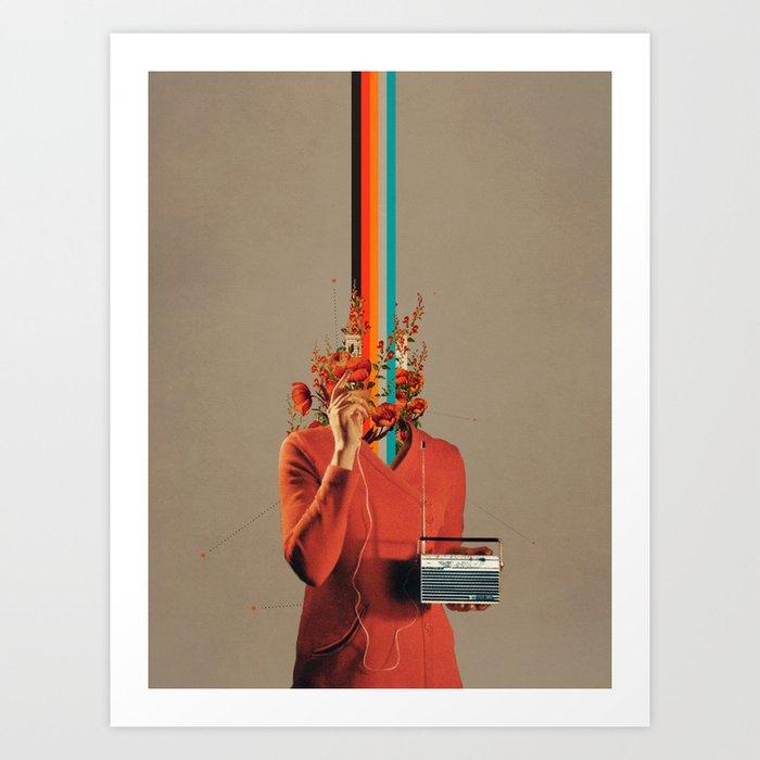 Musicolor Art Print