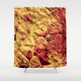 Volcano Spiral Shower Curtain
