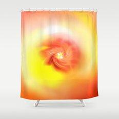 Orange Bliss Shower Curtain