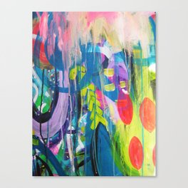 Free Expression Canvas Print