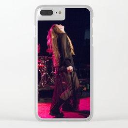 Vera Blue_04 Clear iPhone Case