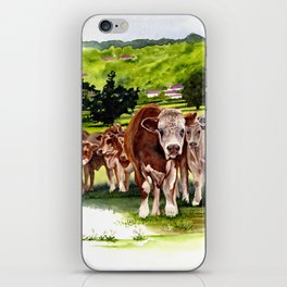 Herd It Throught the Grapevine iPhone Skin