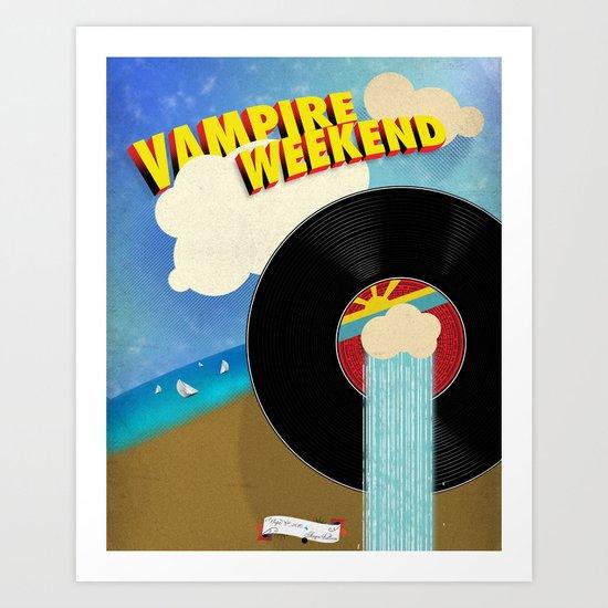 Vampire Weekend - Chicago Art Print