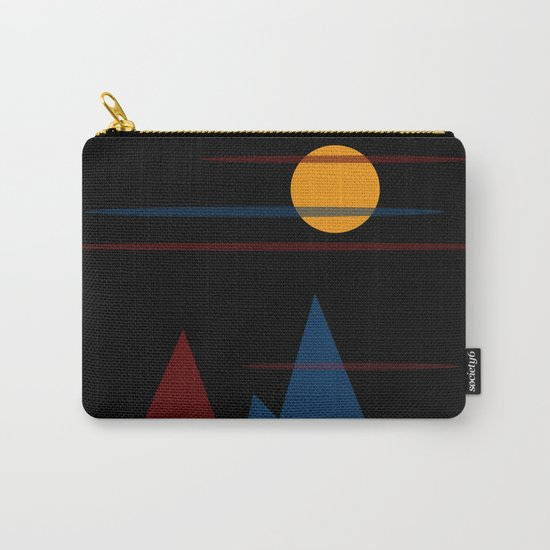 Moon Over The Mountains #3 Carry-All Pouch