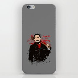 Lucille is coming iPhone Skin