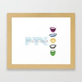 Pentatonix Alternate Album Cover Framed Art Print