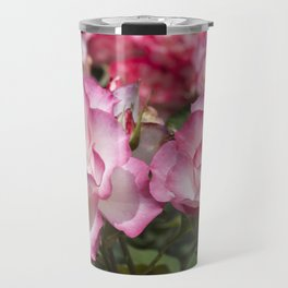 Raspberry Ice Rose Travel Mug