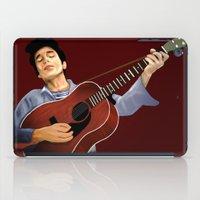 bob dylan iPad Cases featuring Bob Dylan by Derek Donovan