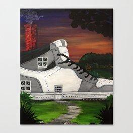 Shoe Value Canvas Print