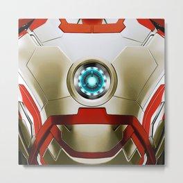 IRON MAN Iron Man Metal Print