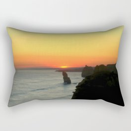 Sunsetting over the Great Southern Ocean Rectangular Pillow