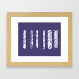 Sequenced Framed Art Print