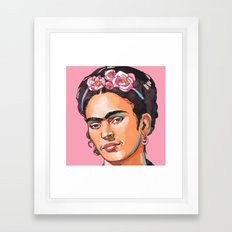 Frida Kahlo - Feminist Icon Framed Art Print