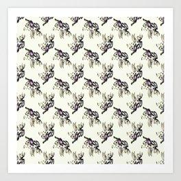 fairy cow Art Print
