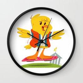 Hover Bird Wall Clock