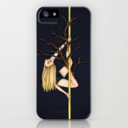 Poletober - Creepy Trees iPhone Case