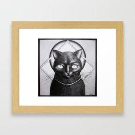 Morgana the guardian Framed Art Print