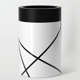 Lines in Chaos II - White Can Cooler