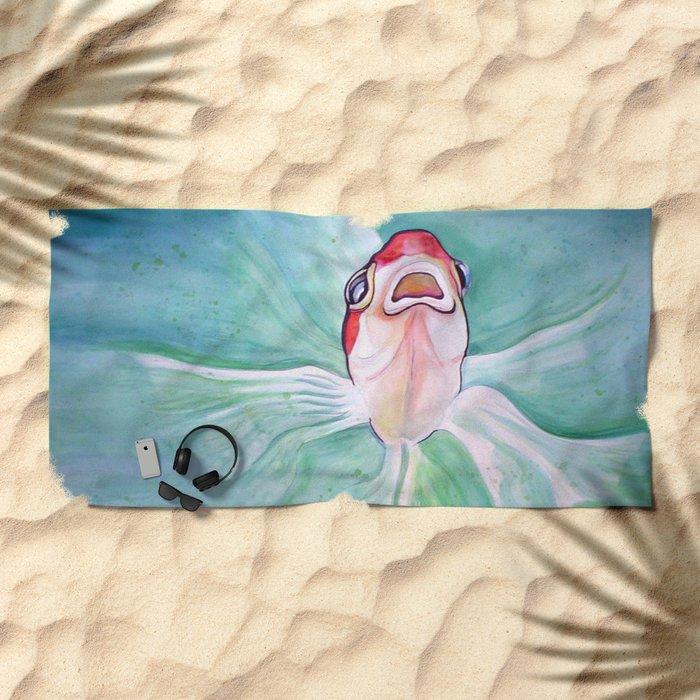 Herb Beach Towel