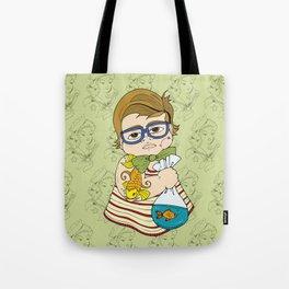 Tattooed Baby 003 Tote Bag