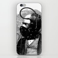 bdsm iPhone & iPod Skins featuring BDSM X by DIVIDUS