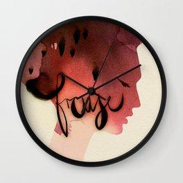 Fraise Wall Clock
