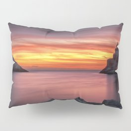 Spectacular sunset in Portovenere Pillow Sham