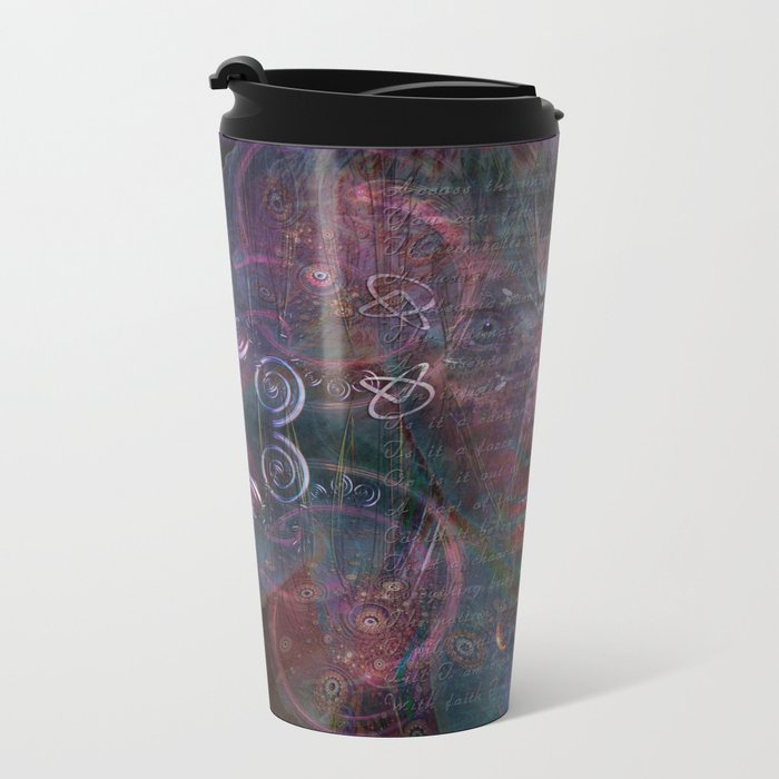 Infinite Correlation Metal Travel Mug