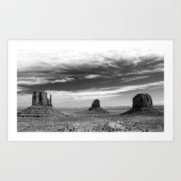 The Wild West Art Print