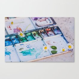 Watercolor Canvas Print