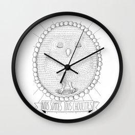Chouette! Wall Clock