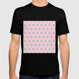 Rose Quartz and Serenity Geometric T-shirt