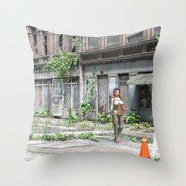 Beautiful Wanderer Throw Pillow
