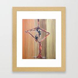 Inverted diamond Framed Art Print