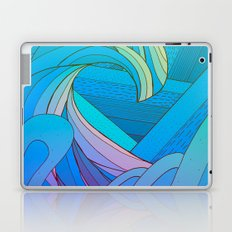 Wave after wave Laptop & iPad Skin