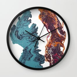 It Takes Two To Tango Wall Clock