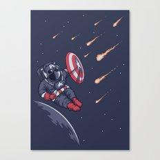 Heroic Time! Canvas Print