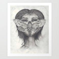 Cleopatra Brimstone Art Print
