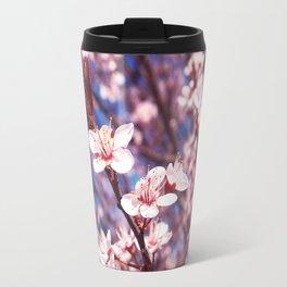 Delicate Pink Crabapple Tree Blooms Travel Mug