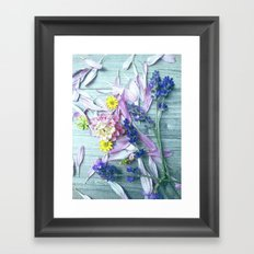 Fresh from the meadow Framed Art Print