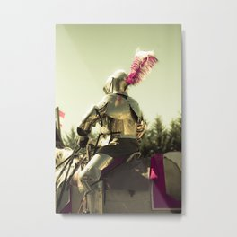 My Knight in Shining Armor Metal Print