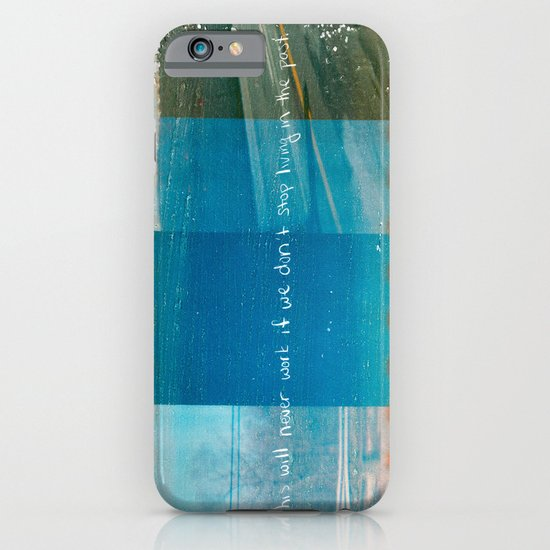 Living in the past iPhone & iPod Case