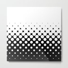 White Holes Metal Print