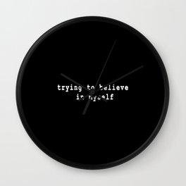 inside yourself Wall Clock