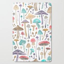 Toadstools and Mushrooms Cutting Board