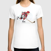 hockey T-shirts featuring Hockey by Dues Creatius