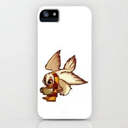 Owl with Tea iPhone Case