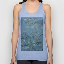 Almond Blossoms Unisex Tank Top